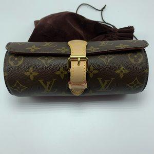 Louis Vuitton Monogram Watch Case